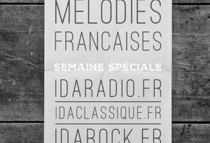 Les 3 radios mettent en valeur le plus beau de la mélodie française dans le cadre d'une semaine spéciale