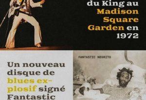 Cette semaine, sur idarock.fr, plein feu sur deux disques fascinants, le Live 72 d'Elvis et la pépite blues rock de Fantastic Negrito @fantasticnegrito