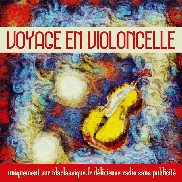 """""""Voyage en Violoncelle"""" c'est actuellement sur idaclassique.fr et c'est gratuit et sans publicit"""